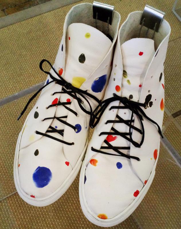 La Maison La chaussure imprimee Dots